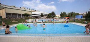 piscina exterior pequeña