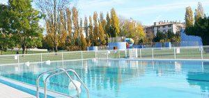 piscina exterior grande
