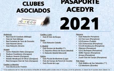 Pasaporte Acedyr 2021